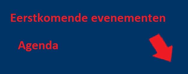 Eerstkomende evenementen - agenda banner